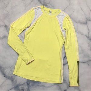 lululemon athletica Tops - Lululemon Run Layer Me Long Sleeve Bright Yellow